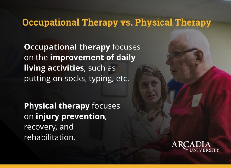 Occupational Therapy vs. Physical Therapy
